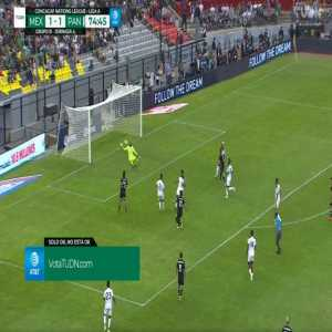 Mexico [2] - 1 Panama - JJ Macias 75'