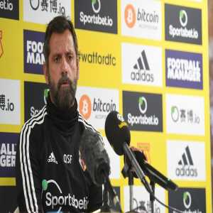 """Watford Boss Quique Sanchez Flores: """"We can't permit hate. It's not an option in this world. We have advanced in many, many ways but it is not acceptable we are still dividing the world by the colour of skin and in other ways. Our club will push strong on this issue very soon."""""""