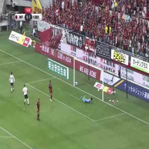 Arthur (Tokyo FC) nice goal vs Vissel Kobe