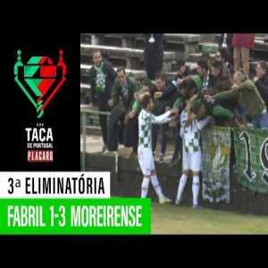 Fabril [1] - 3 Moreirense: Pedro Celestino 85'