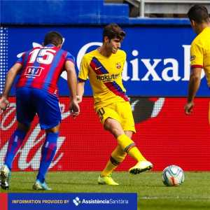 [@FCBarcelona] [INJURY NEWS] @SergiRoberto10 has hurt his left knee. Tests will reveal the exact extent of the injury #EibarBarça