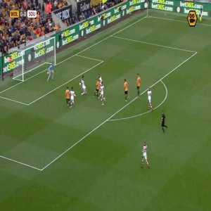 Raúl Jiménez two disallowed goals Wolves vs. Southampton (handball + offside VAR ruling)