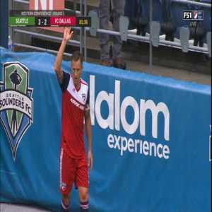 Seattle Sounders 3-[3] FC Dallas - Acosta 82'