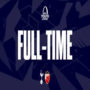 FULL-TIME: A dominant afternoon for our U19s at Hotspur Way as we pick up our first @UEFAYouthLeague victory of the season in style! 🔥 ⚪️ #THFC 9-2 #FKCZ 🔴