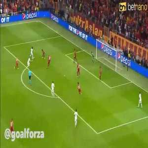 Hazard miss vs Galatasaray