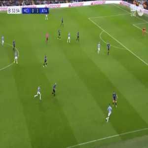 Manchester City [1]-1 Atalanta - Aguero 34'