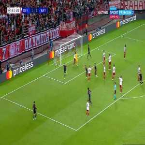 Olympiacos 1 - [2] Bayern | Lewandowski 62'