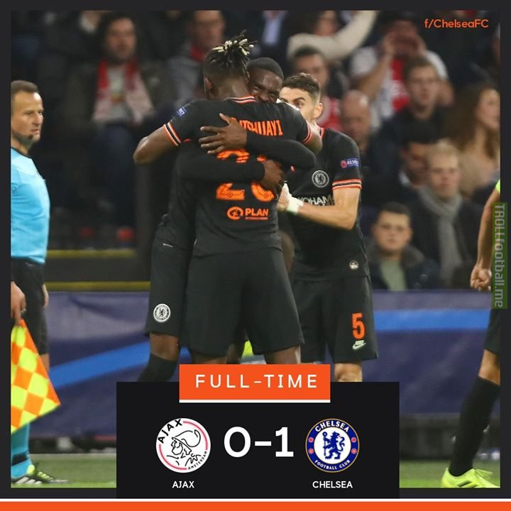 Chelsea are victorious thanks to Batshuayi's late winner