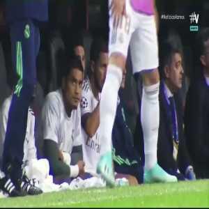 Zidane and Jovic interaction Vs Galatasaray