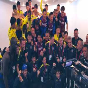 Yaya Toure & Qingdao Huanghai officially promote to CSL after defeat Shanghai Shenxin 2-0