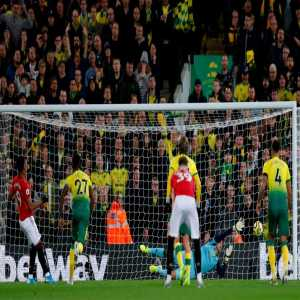 Manutd Penalties in PL this season