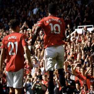 Marcus Rashford has been involved in more Premier league goals this season (8) than Aubameyang (7)