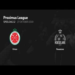 Virton - Roeselare (Belgian second league) with one banger after the other.