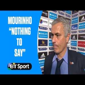 "Jose Mourinho has ""nothing to say"" after Chelsea are beaten 3-1 by Liverpool #throwback 2015"