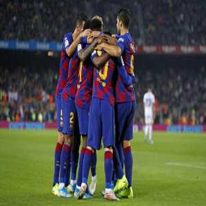 Barcelona has had 13 different goal scorers, more than any other side in the top five European leagues this season.