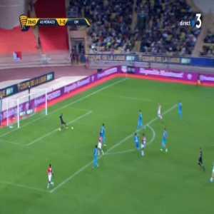Monaco 2-0 Olympique de Marseille - Aguilar R. 40'