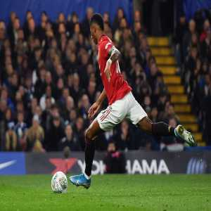 Rashford has scored five goals against Chelsea across all competitions; his most against a single opponent in his club career.