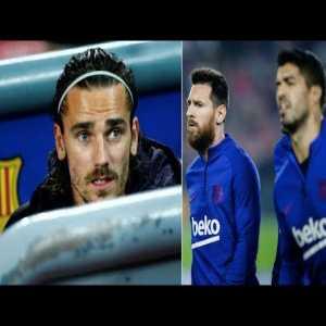 Are Lionel Messi & Luis Suarez ignoring Antoine Griezmann at Barcelona?