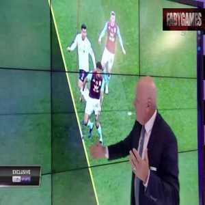 Andy Gray analysis of Firmino offside goal Vs. Aston Villa