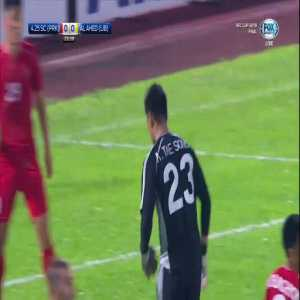 An Tae-song (goalkeeper) red card 26' [AFC Cup final 4.25 SC 0-0 Al Ahed]