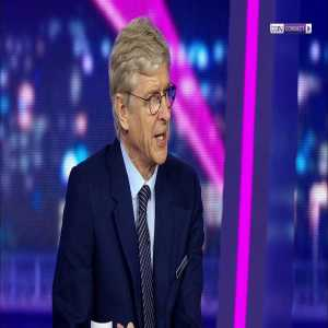 Arsene Wenger asked whether he would be interested in the Bayern Munich job!