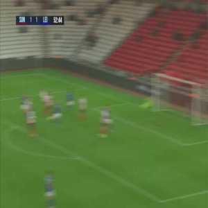 Sunderland 1-[2] Leicester City u21s - Dewsbury Hall 53'
