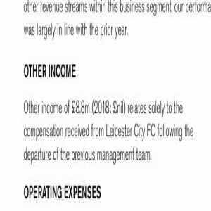 Found in the footnotes to Celtic's annual report. Leicester City paid £8.8 million to Celtic in compensation for Brendan Rodgers
