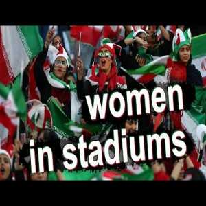 #WakeUpFIFA - Story of Iranian Women in Stadiums [OC]
