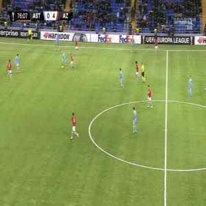 Astana 0-[5] AZ Alkmaar - Boadu 77'