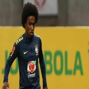 """Willian admits he has received an offer from FC Barcelona last summer for 35m euros: """"I refused it because I wanted to continue my career with Chelsea."""""""