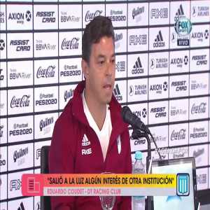 """Marcelo Gallardo on rumors linking him to Bayern Munich: """"There is nothing to blur me from the objectives that lie ahead. Also no one talked to me."""""""