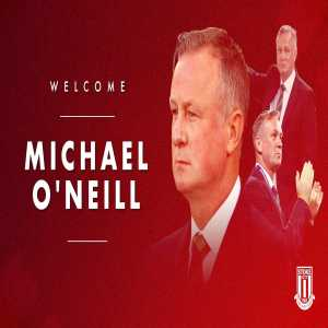 Michael O'Neill appointed Stoke manager