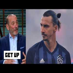 MLS Commissioner Don Garber says that Zlatan Ibrahimovic talks to him in the third person. He also claims that Zlatan just has been recruited by AC Milan.