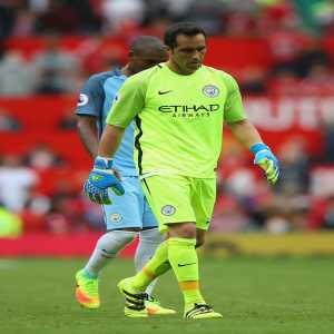 Of the last 40 shots on target that Claudio Bravo has faced in the Premier League, he's only saved 19 and conceded a goal with 21 of them.