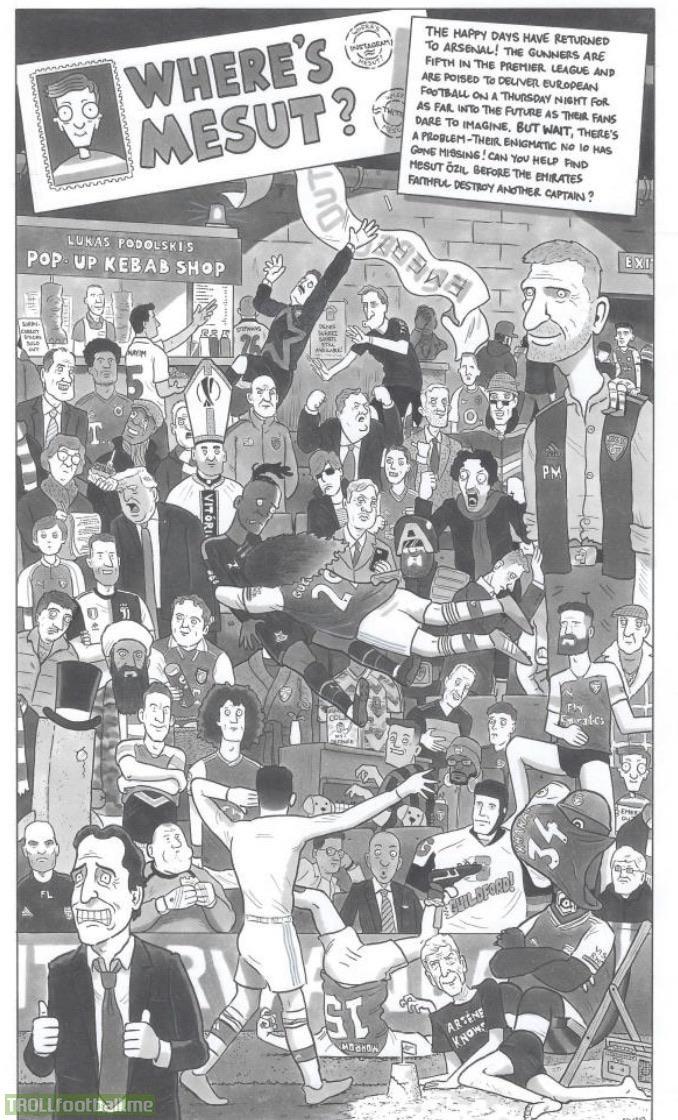 Where's Ozil?