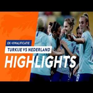 [Women's Euro Qualifier] Turkey 0-8 Netherlands | Daniëlle van de Donk scored a hatrick and Vivianne Miedema scored 2 goals