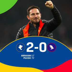 Frank Lampard is the first English manager to win six consecutive Premier League games since Alan Pardew in 2012. The Blues move up to second in the Premier League table
