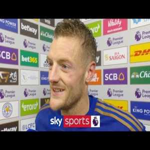 """I'm in the form of life!' - Jamie Vardy reacts to Leicester's 2-0 win over Arsenal 