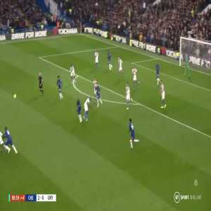 Zouma's Incredible double tackle to stop Palace Counter Attack.