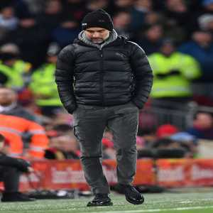 4 – Pep Guardiola has lost more away games in all competitions at Anfield than he has at any other stadium in his managerial career (4).