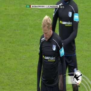 Bayern München II 2-[1] 1. FC Magdeburg - Sören Bertram 69' (Great goal)