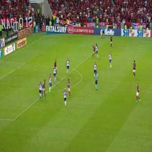 Flamengo [2] x 1 Bahia - Bruno Henrique 72'