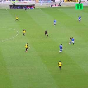 Great goal from Marcelo Santiago, from Anadia (Portugal minor league)