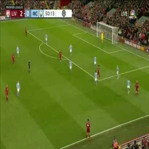 Liverpool 3-0 Manchester City - Mane 51'