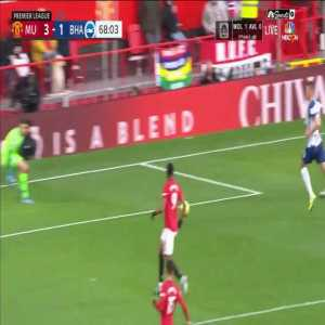 Marcus Rashford incredible miss vs Brighton.