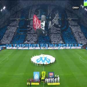 Marseille's tifo against Lyon