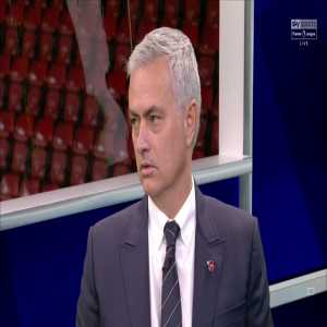 Mourinho: I think nine points, for a very good team, is a difference you just have to control. So if Liverpool win the game, I see them winning the league