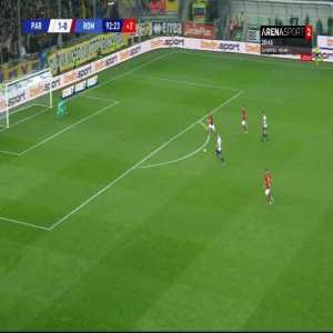 Parma [2] - 0 Roma - Cornelius 93'