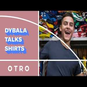 Paulo Dybala shows off his insane shirt collection and talks about his most imporant ones with Juventus, Palermo, Instituto and the Argentina NT.
