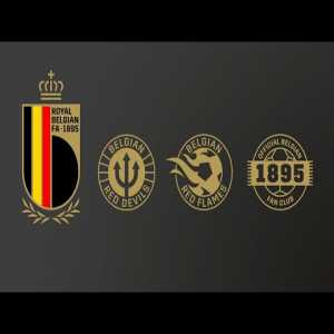 The Royal Belgian FA has a new emblem